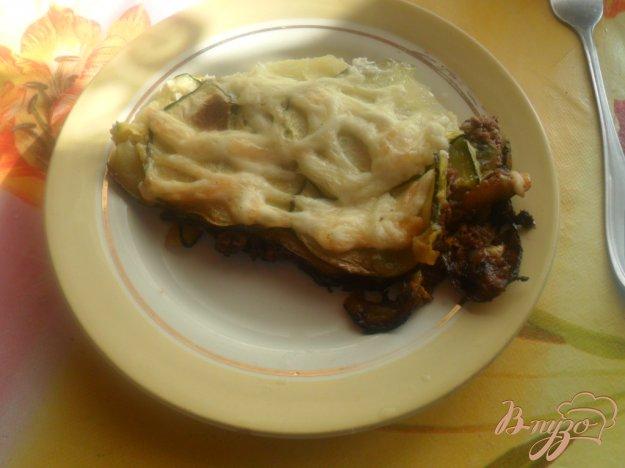 Рецепт Запеканка из кабачка по-венгерски