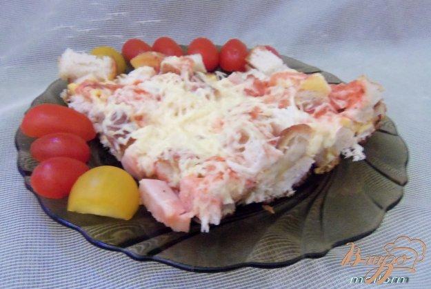 Рецепт Ленивая а-ля пицца на сковороде