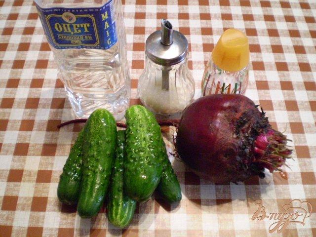 Фото приготовление рецепта: Маринованные огурцы шаг №1