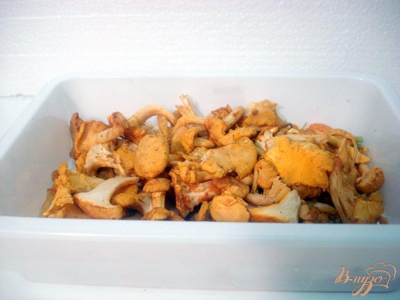 Фото приготовление рецепта: Суп с лисичками и цветной капустой шаг №2