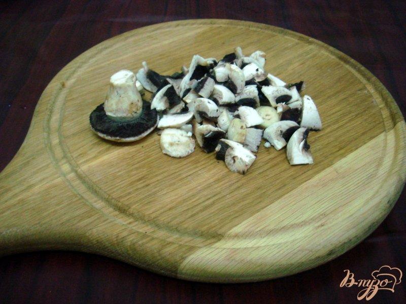 Фото приготовление рецепта: Овощной суп с кабачками и сардельками шаг №8