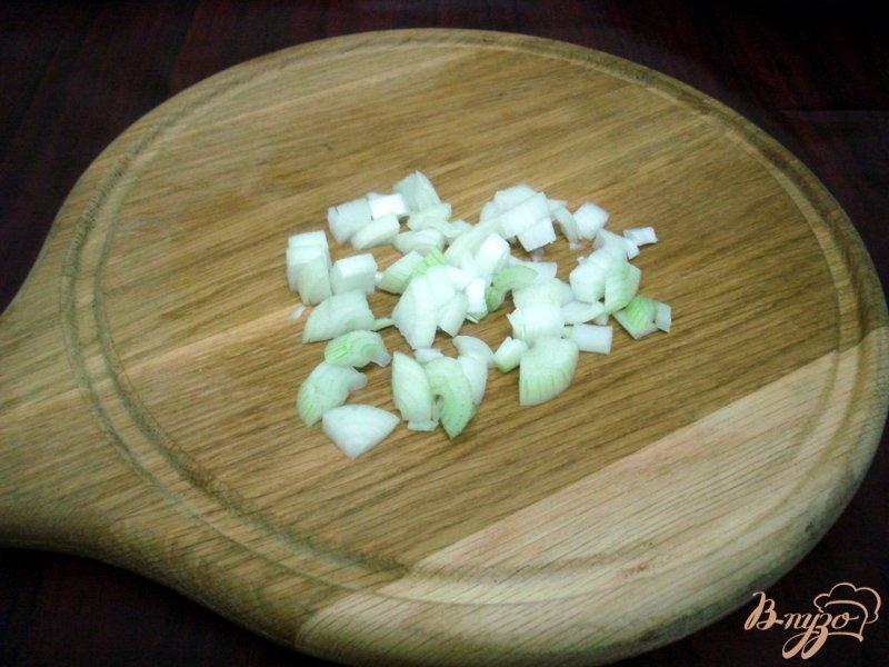 Фото приготовление рецепта: Овощной суп с кабачками и сардельками шаг №4