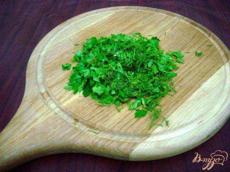 Фото приготовление рецепта: Овощной суп с кабачками и сардельками шаг №10