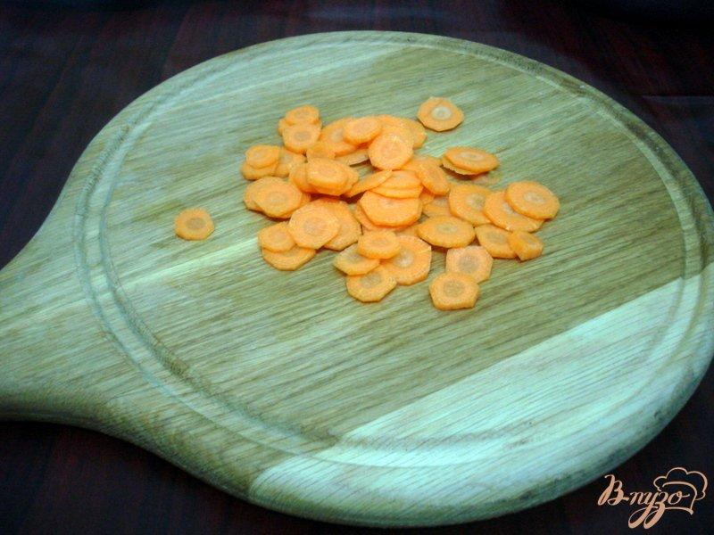 Фото приготовление рецепта: Овощной суп с кабачками и сардельками шаг №5