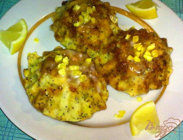 фото рецепта: Лимонные кексы с маком