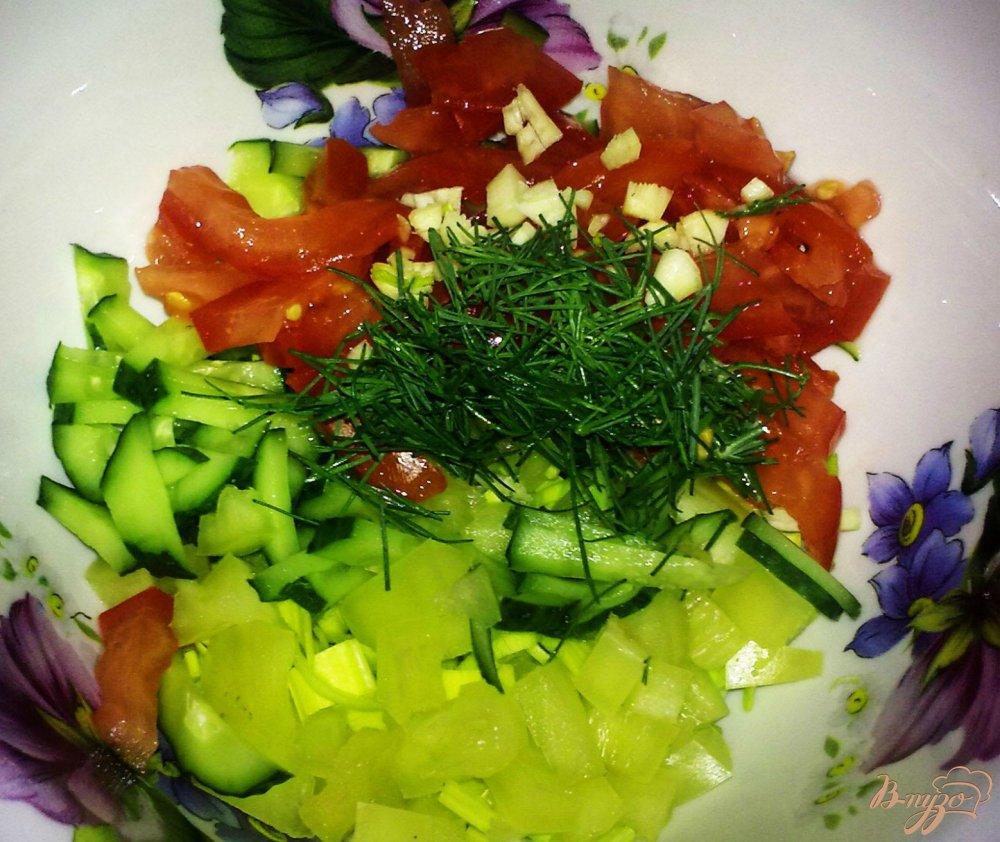 Фото приготовление рецепта: Фитнес-суп шаг №6