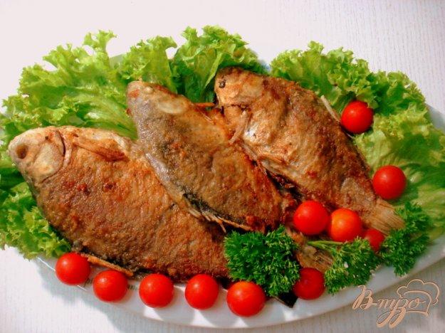 Рецепт Караси жареные в хрустящей корочке