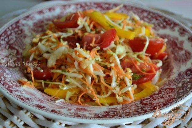 Рецепт Овощной салат с орешками кешью