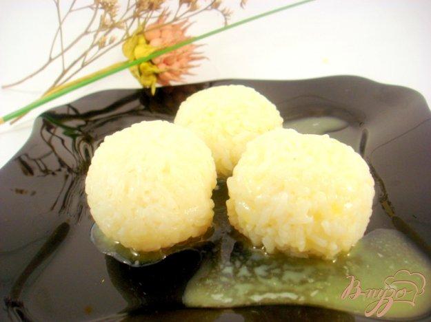 Рецепт Гарнирные рисовые шарики