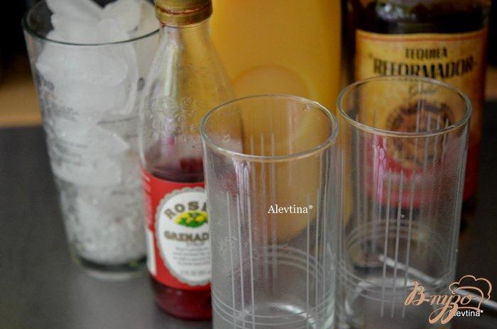 Фото приготовление рецепта: Мексиканский восход шаг №1