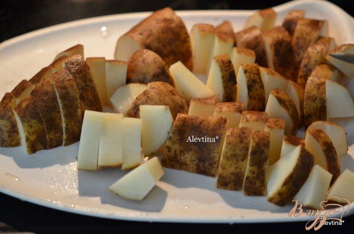 Фото приготовление рецепта: Пряный картофель в духовке шаг №1