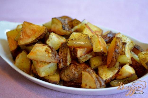 фото рецепта: Пряный картофель в духовке