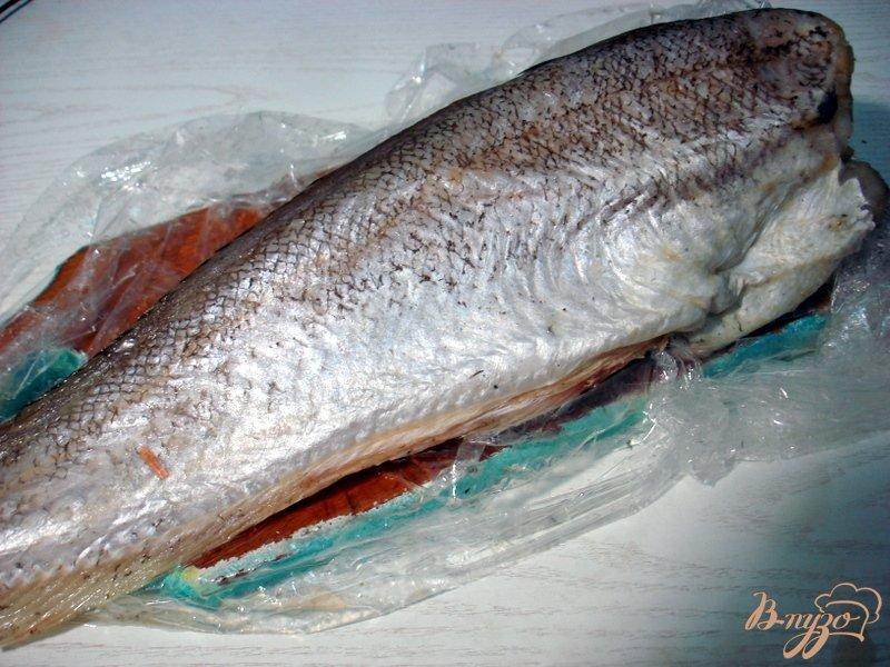 Фото приготовление рецепта: Рыба жареная с дымком шаг №1