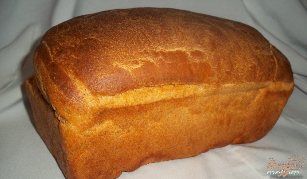 Фото приготовление рецепта: Хлеб на томатном соке шаг №4