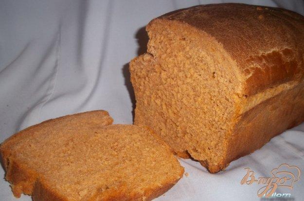 фото рецепта: Хлеб на томатном соке