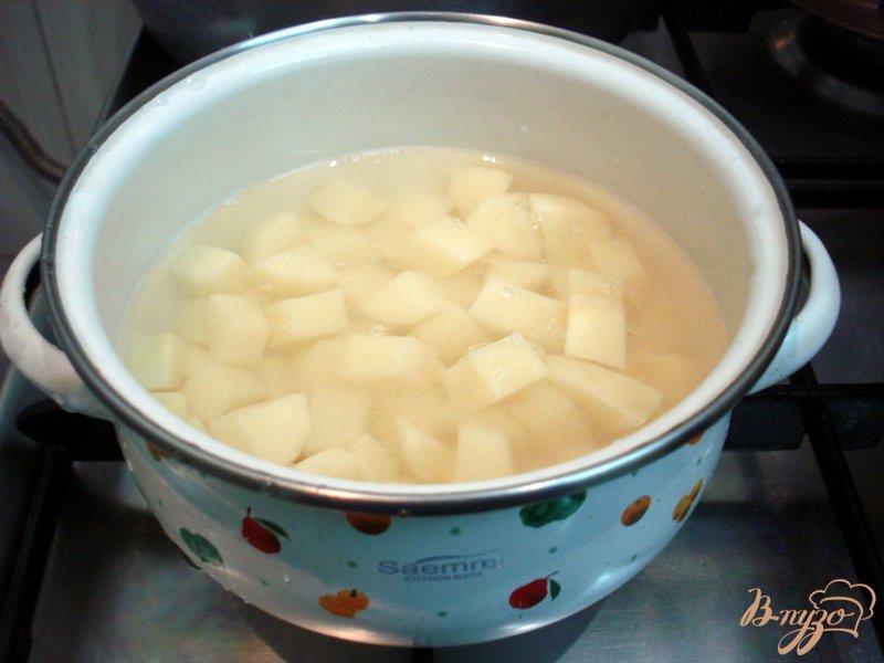 Фото приготовление рецепта: Рассольник с почками шаг №7