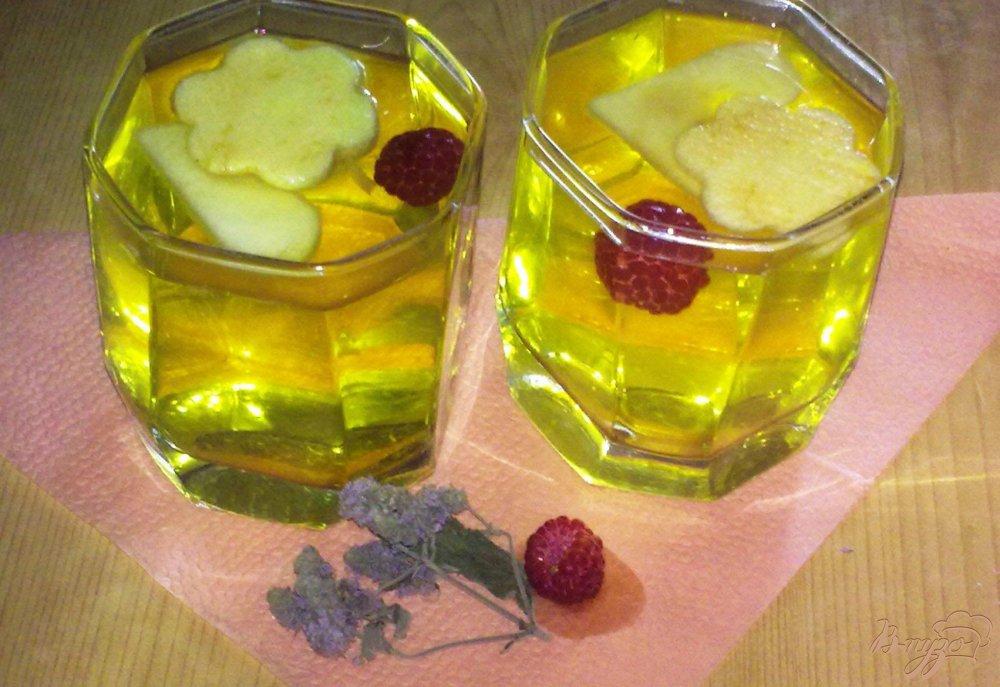 Фото приготовление рецепта: Фруктовый лимонад шаг №6