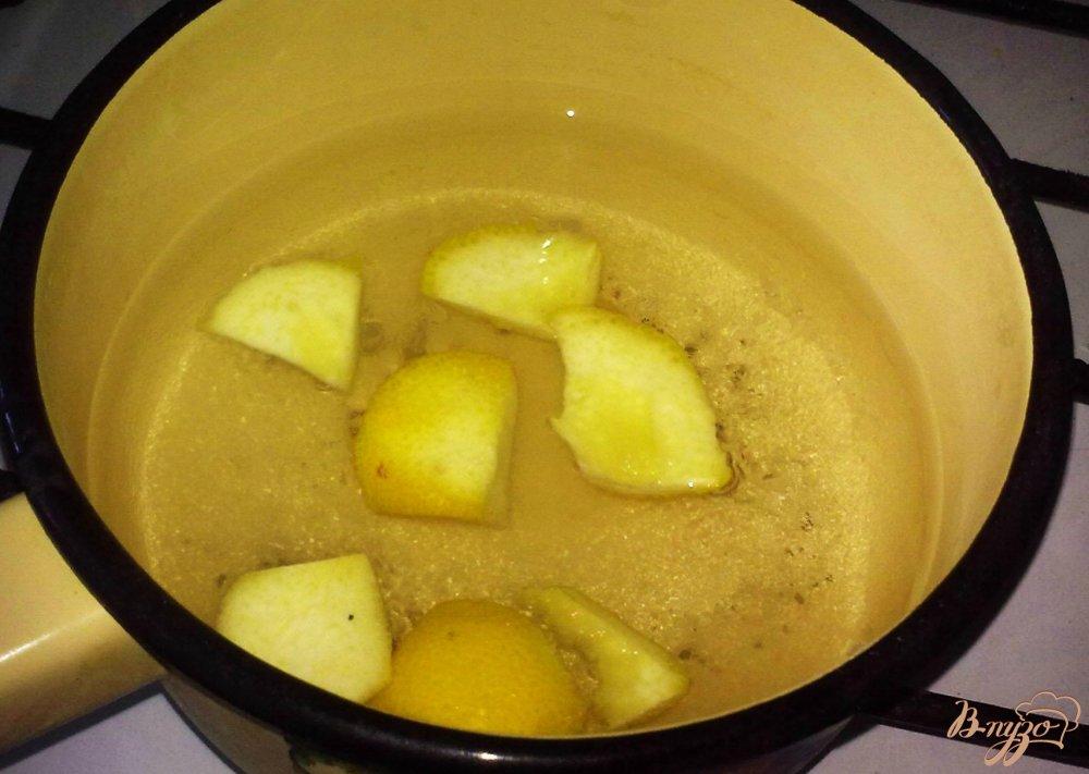 Фото приготовление рецепта: Фруктовый лимонад шаг №2