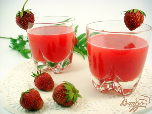 Рецепт Лимонад из клубники