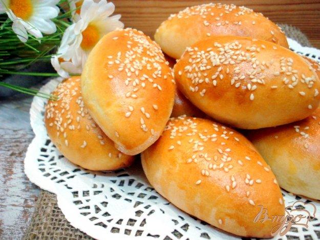 Рецепт Пирожки с мясом на айране, или кефире