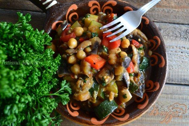 Рецепт Овощное рагу с нутом