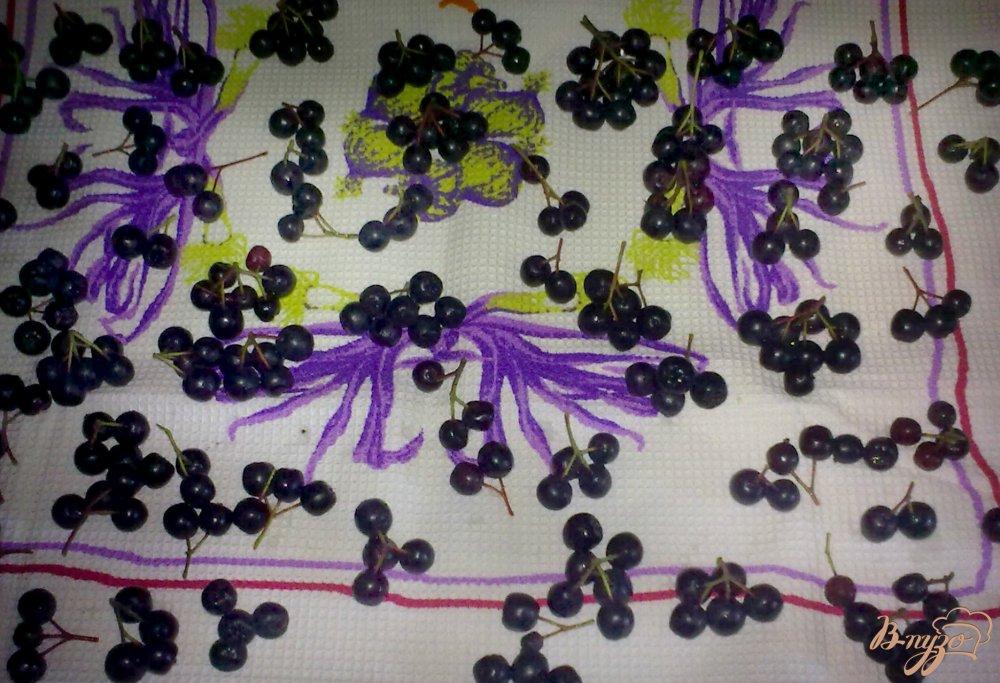 Фото приготовление рецепта: Замороженная черноплодная рябина шаг №3