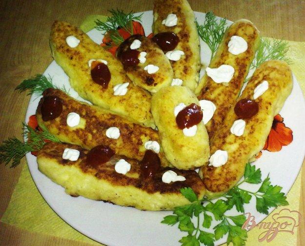 Рецепт Картофельные колбаски
