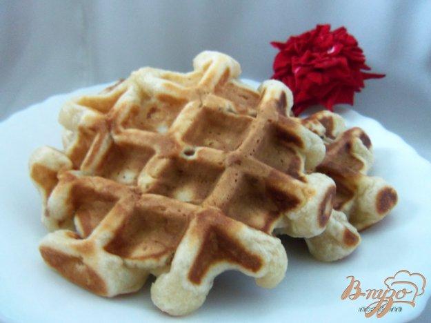 Рецепт Вафли на кефире и джеме