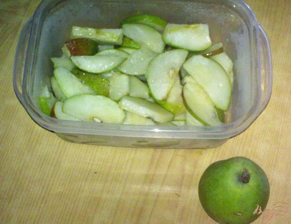 Фото приготовление рецепта: Замороженные груши шаг №5