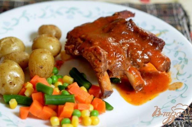 Рецепт Свиные ребра в итальянском соусе