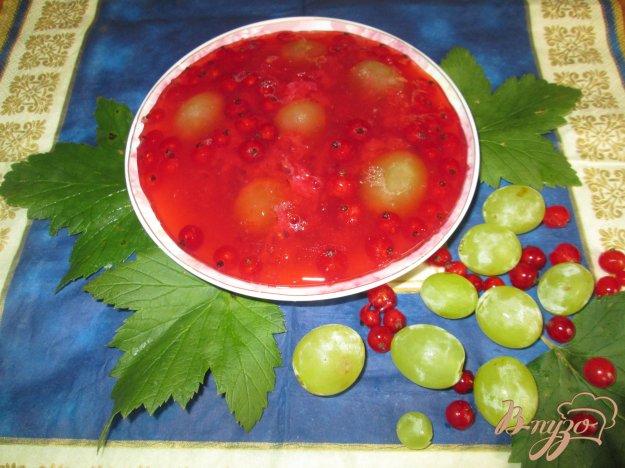 Рецепт Желе из красной смородины