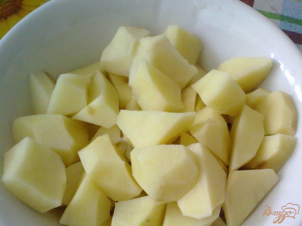 Фото приготовление рецепта: Жаркое в горшочке по-белорусски шаг №2