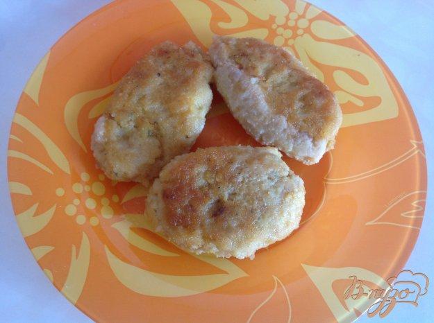 фото рецепта: Рыбные котлеты с рисом