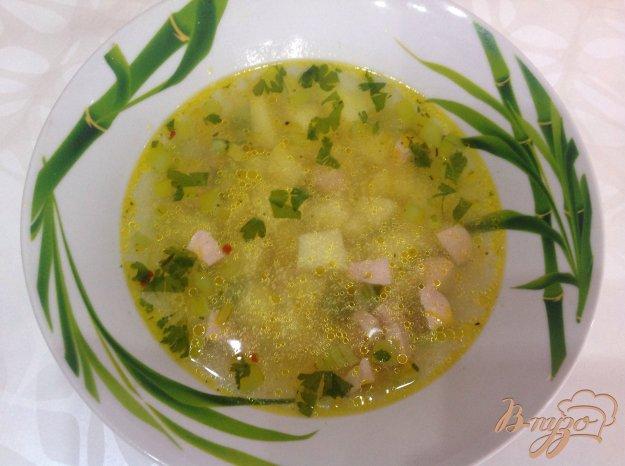фото рецепта: Гороховый суп с сосисками