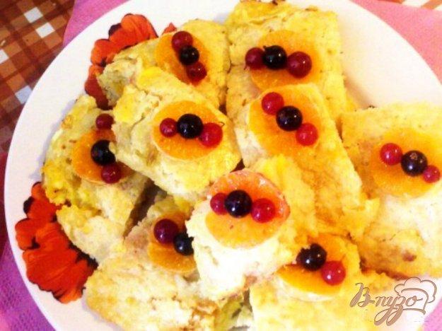 Рецепт Апельсиново-лимонный пирог
