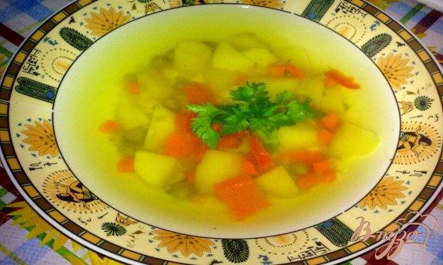 """Рецепт Суп с зеленым горошком """"Легкость"""""""