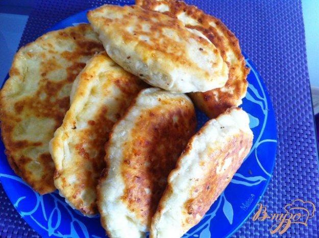 сырные лепешки с начинкой пошаговый рецепт с фото