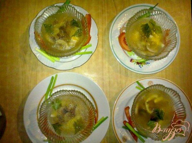Рецепт Заливное из грибов