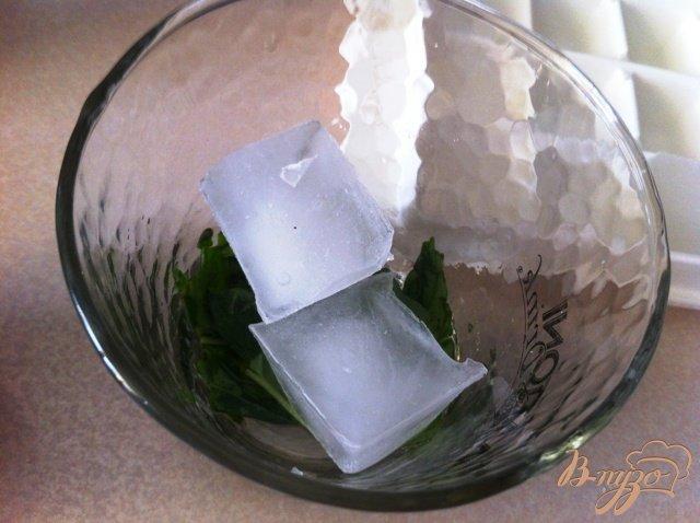 Фото приготовление рецепта: Безалкогольный Мохито с базиликом шаг №5