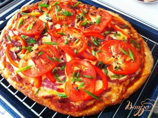 фото рецепта: Пицца с салями
