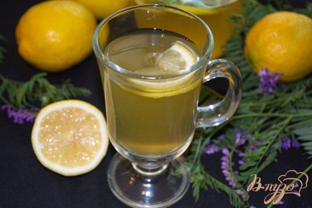Рецепт Лимонад на зеленом чае