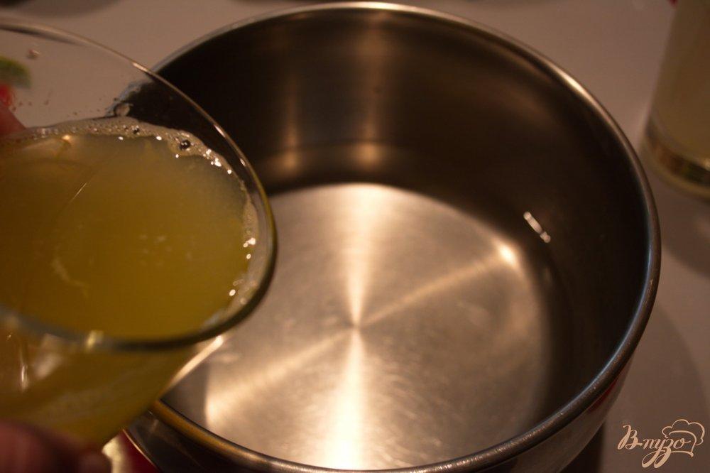 Фото приготовление рецепта: Сельский лимонад из апельсин и лимона шаг №1
