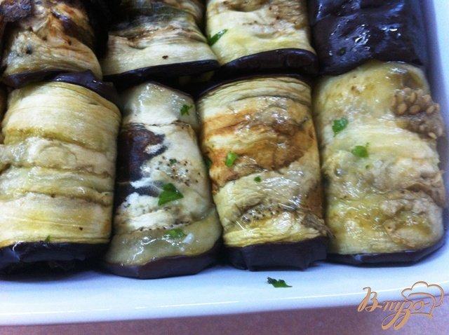 Фото приготовление рецепта: Баклажаны на закуску шаг №12