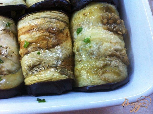 Фото приготовление рецепта: Баклажаны на закуску шаг №13