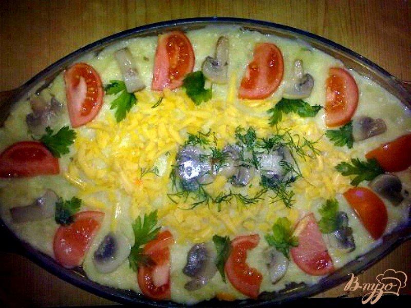 Фото приготовление рецепта: Закусочный торт