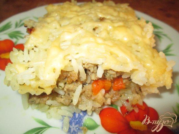 Рецепт Запеканка из риса с фаршем