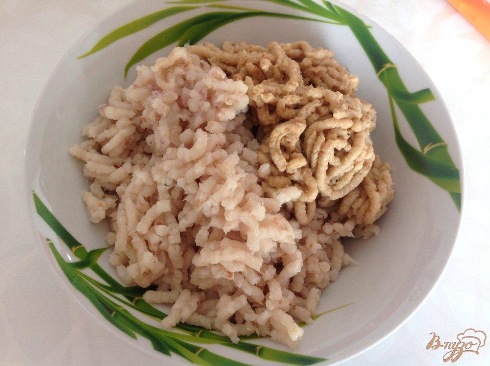 Фото приготовление рецепта: Суп с рыбными фрикадельками шаг №1
