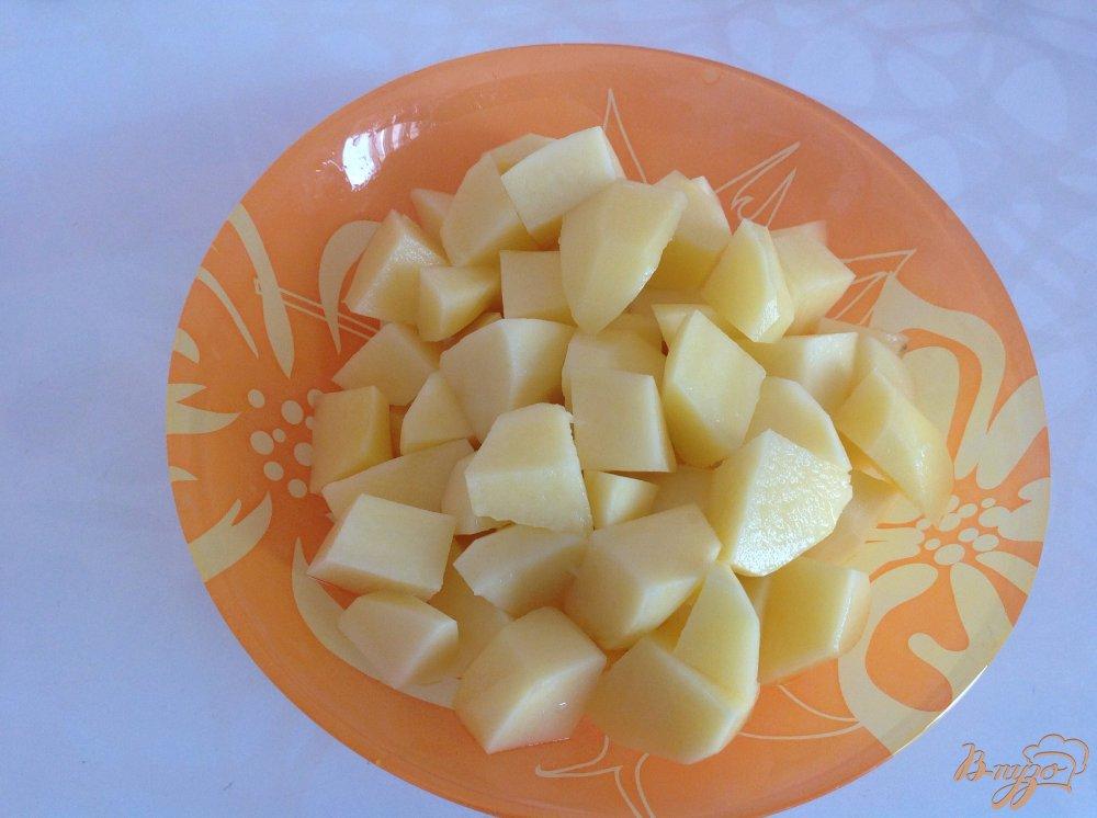 Фото приготовление рецепта: Вермишелевый суп со сливками шаг №2