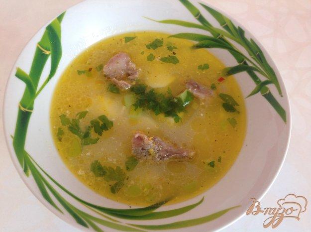 фото рецепта: Вермишелевый суп со сливками