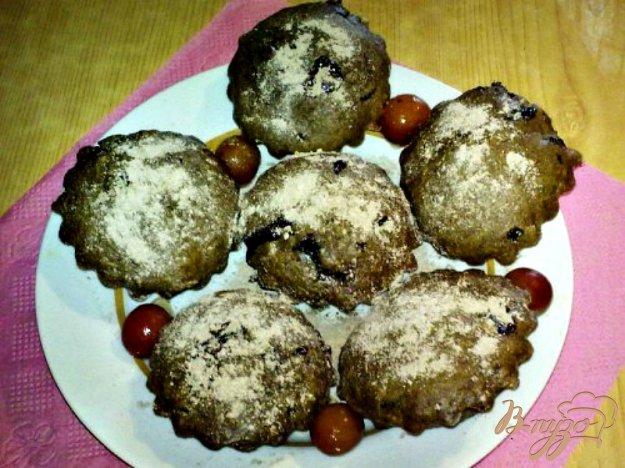 Рецепт Шоколадно-кофейные кексы